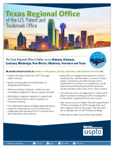 Texas Regional Office U.S. Patent and Trademark Office